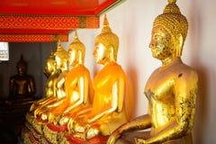 Wat Pho Buddhist Temple in Bangkok, Thailand. The beautiful architecture of Wat Pho Buddhist Temple in Bangkok, Thailand royalty free stock image