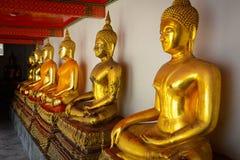 Wat Pho Buddhist Temple in Bangkok, Thailand. The beautiful architecture of Wat Pho Buddhist Temple in Bangkok, Thailand stock photography