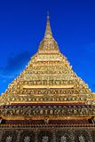 Wat Pho Temple. Wat Pho is a Buddhist temple complex in Phra Nakhon district in Bangkok, Thailand royalty free stock photography