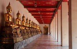Wat Pho. Is a Buddhist temple located in Bangkok, Thailand.  is one of the largest and oldest twmple in Bangkok stock image