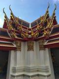 Wat Pho buiten gebouwen, Bangkok stock afbeelding
