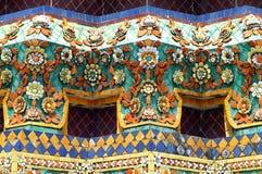Wat Pho ceramic. In Bangkok Stock Photo