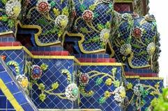 Wat Pho ceramic. In Bangkok Royalty Free Stock Photo
