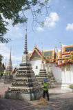 Wat Pho complex in Bangkok Stock Images