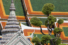 Wat Pho Detail Stock Photography