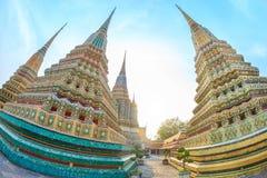Wat Pho em Banguecoque Fotografia de Stock