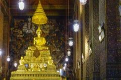 Wat Pho em Banguecoque, Tailândia Imagens de Stock