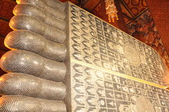 Wat Pho en Bangkok, Tailandia Fotografía de archivo libre de regalías