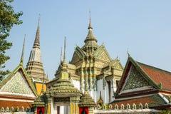 Wat Pho en Bangkok Tailandia Fotos de archivo