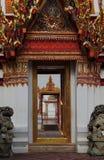 Wat Pho entrances. Door entrances at Wat Pho in Bangkok Royalty Free Stock Image