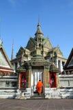 Wat Pho está situado en Tailandia Imagen de archivo
