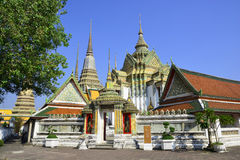 Wat Pho. Famous giants infront of Wat Pho gate , Wat Pho , Bangkok, Thailand Stock Photography