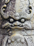 Wat Pho Gesicht lizenzfreies stockfoto