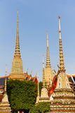 Wat Pho i Bangkok, Thailand, Asien Arkivbilder