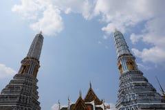 Wat Pho i den Bangkok staden royaltyfri foto