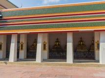 Wat Pho Kaew, Bangkok, Thaïlande Photographie stock