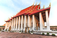 Wat Pho known also as the Temple of the Reclining Buddha Stock Photo