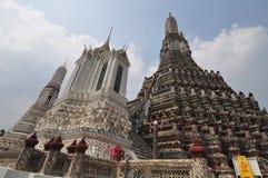 Wat Pho, le temple du Bouddha étendu à Bangkok, Thaïlande Photos libres de droits