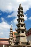 Wat Pho lokaliseras i Thailand royaltyfri bild