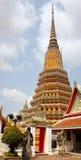 Wat Pho  monastery in bangkok -Thailand Royalty Free Stock Image