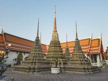 Wat Pho, o templo da Buda de reclinação fotografia de stock