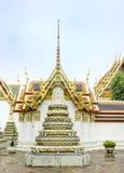 Wat Pho, o templo de buddha de reclinação, Banguecoque Foto de Stock