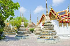 Wat Pho Old Nice Temple Stockbild