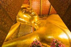 Wat Pho ou le nom officiel est Wat Pho car le temple le plus ancien est à la maison à une paire, Wat Pho un populaire avec des vi Photographie stock libre de droits
