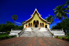 Wat Pho Pha Bang, Luang Prabang Royalty-vrije Stock Afbeelding