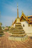 Wat Pho or Wat Phra Chetuphon, `Wat` means temple in Thai. The temple is one of Bangkok`s most famous tourist sites in. Thailand Royalty Free Stock Photography