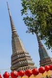Wat pho prangs Royalty Free Stock Photo