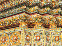Wat Pho (Reclining Buddha) in Bangkok, Thailand Stock Images