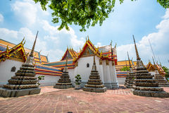 Wat Pho Scenic View Royaltyfria Bilder