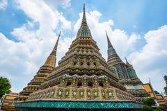Wat Pho Scenic View Arkivfoton