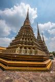 Wat Pho Scenic View Royaltyfria Foton