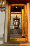 Wat Pho sunset temple,Bangkok in Thailand Stock Images