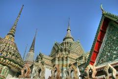 Wat pho Tempel stockbild