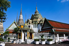 Wat Pho tempel royaltyfri fotografi