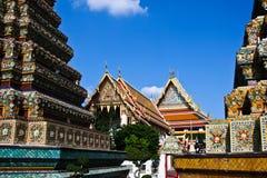 Wat Pho tempel Royaltyfria Foton