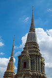 Wat Pho Tempel Stockfotos