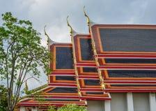Wat Pho-tempel in Bangkok, Thailand stock afbeeldingen