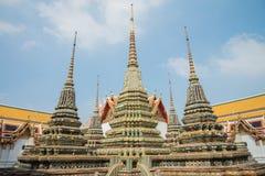 Wat Pho tempel, Bangkok Thailand Royaltyfri Bild