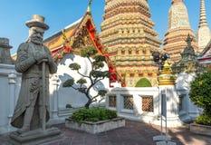 Wat Pho-Tempel, Bangkok Thailand Lizenzfreies Stockfoto