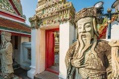 Wat Pho Tempel, Bangkok, Thailand Lizenzfreies Stockfoto