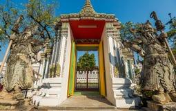 Wat Pho Tempel, Bangkok, Thailand Stockbild