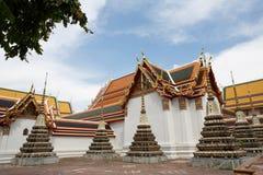 Wat Pho tempel eller vila Buddhatemplet, Bangkok, Thailand Royaltyfria Bilder