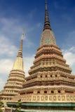 Wat Pho temple in Bangkok Stock Photos