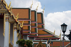 Wat Pho Temple in Bangkok Royalty Free Stock Photo