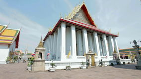 Wat Pho temple stock video