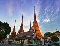 Wat Pho temple, Bangkok, Thailand Stock Images